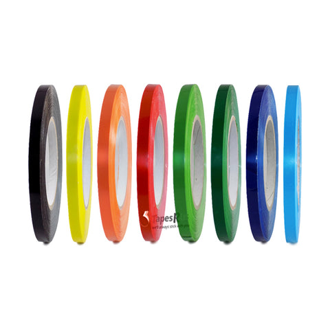 T.R.U. UPVC-24BS Color Poly Bag Sealing Tape: 3/8 in. x 180 yds. 8 Colors Available