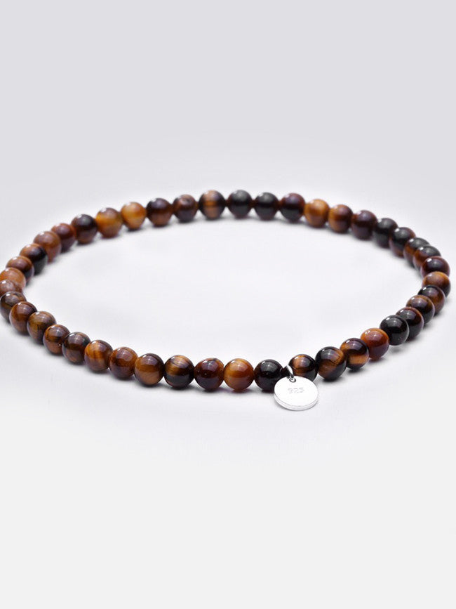 Nature Brown AGATE Crystal Stones bracelet