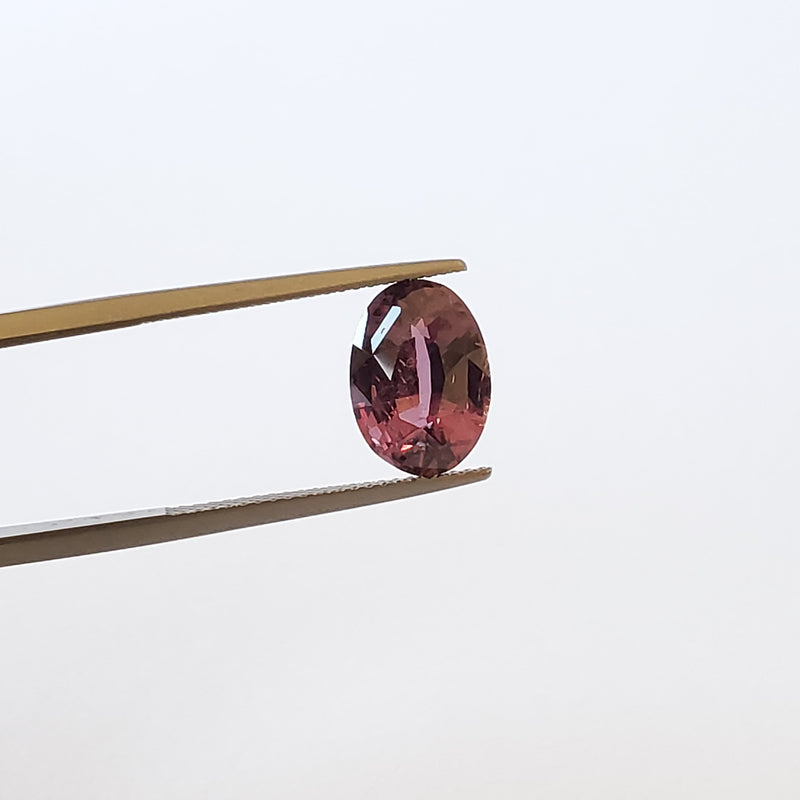 Fancy Color Purple Sapphire Oval 3.74ct - Gemorex International Inc