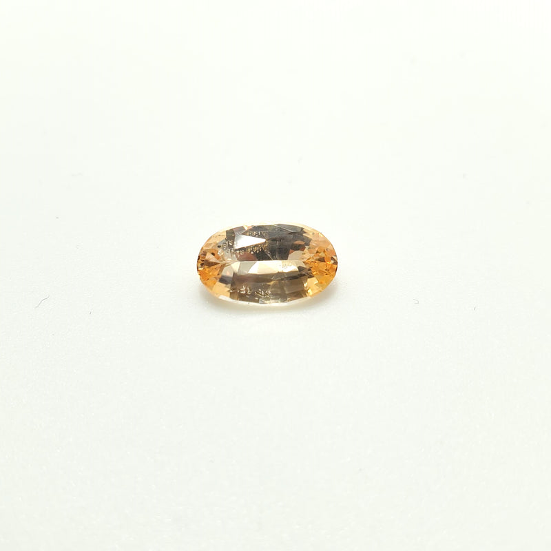 Fancy Color Golden Sapphire Oval 2.13ct - Gemorex International Inc
