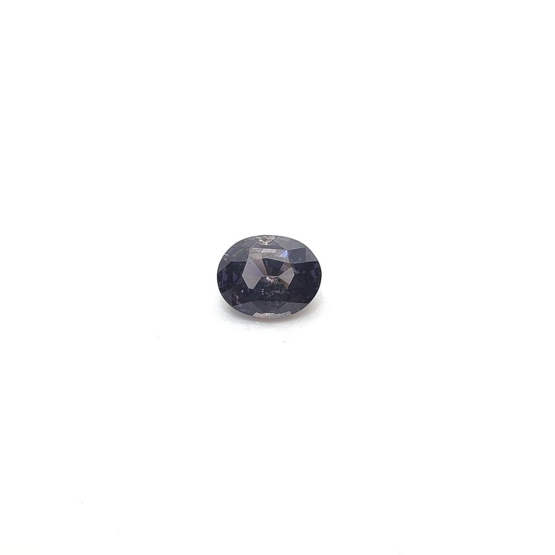 Fancy Color Grey Sapphire Oval 1.56ct - Gemorex International Inc