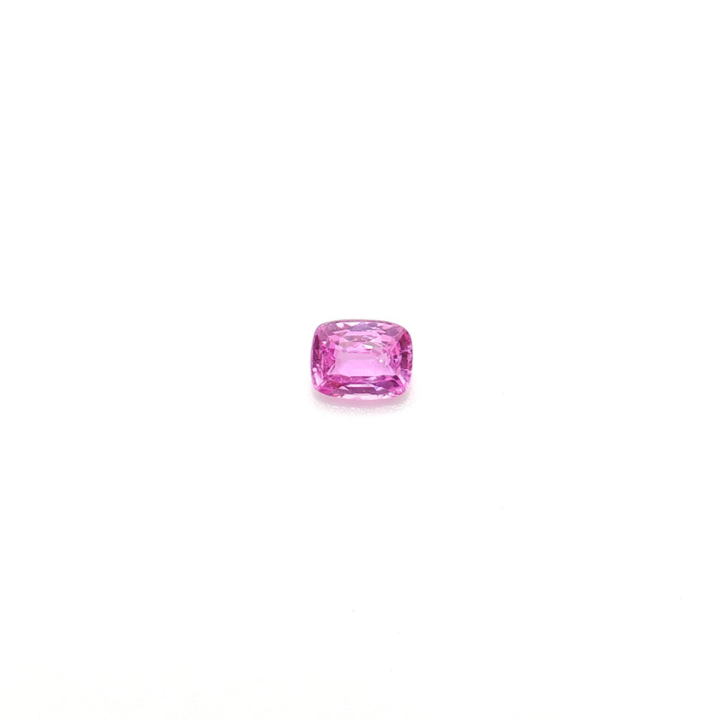 Fancy Color Pink Sapphire Cushion Cut 1.36ct - Gemorex International Inc