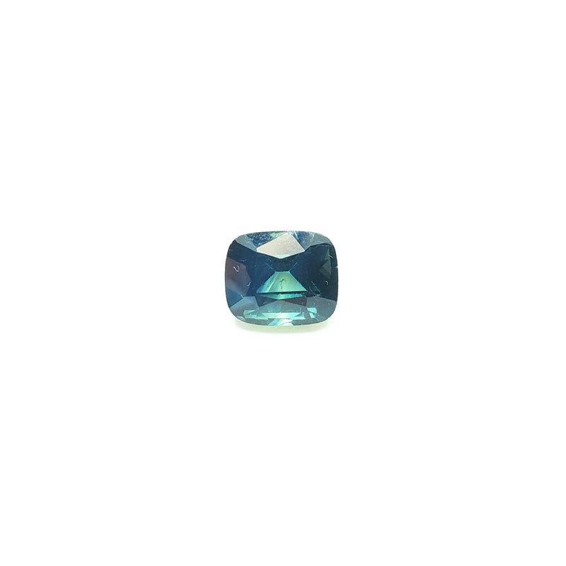 Teal Sapphire Cushion Cut 2.39 ct - Gemorex International Inc
