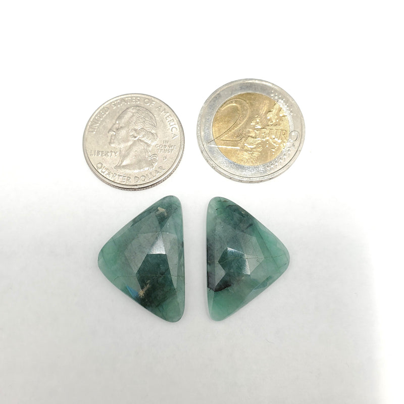 Emerald Rose Cut CLOSEOUT - Gemorex International Inc