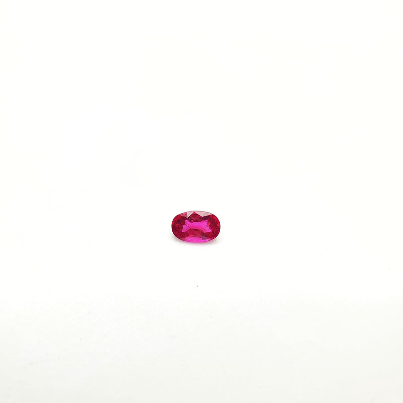 Mozambique Ruby Natural Unheated Oval 5.25 x 8.10 mm - Gemorex International Inc