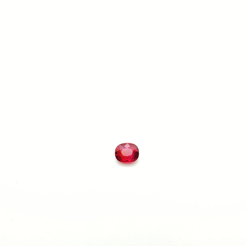 Mozambique Ruby Natural Unheated Oval 5.50 x 6.75 mm (Certified) - Gemorex International Inc