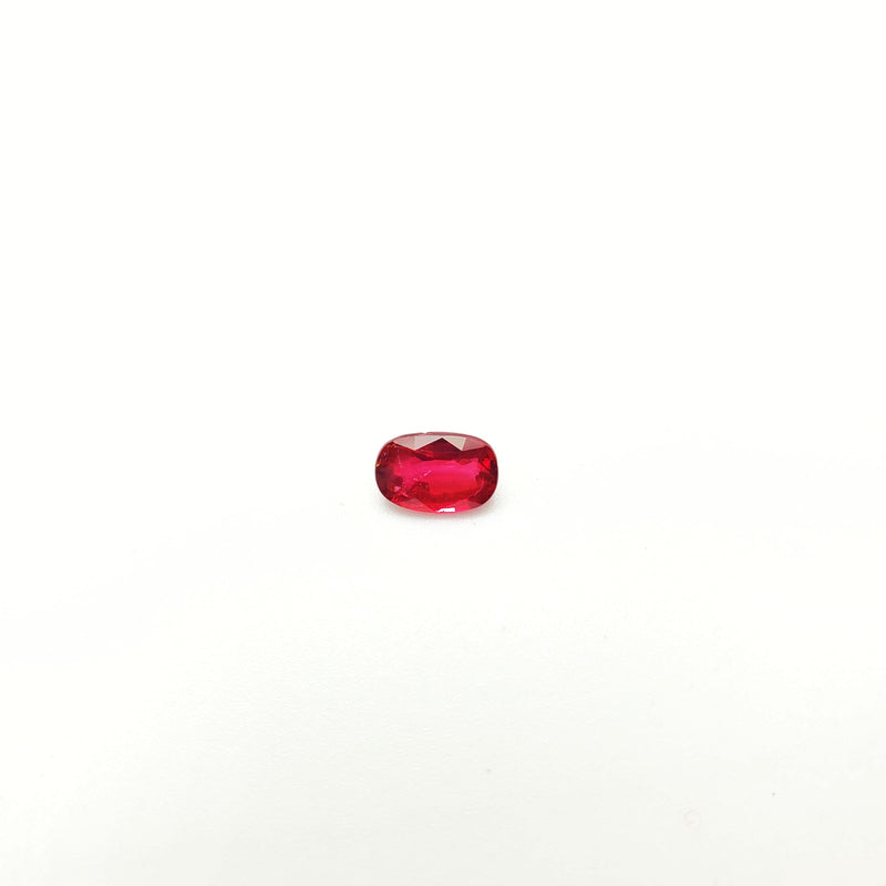 Mozambique Ruby Natural Unheated Oval 4.91 x 7.44 mm - Gemorex International Inc