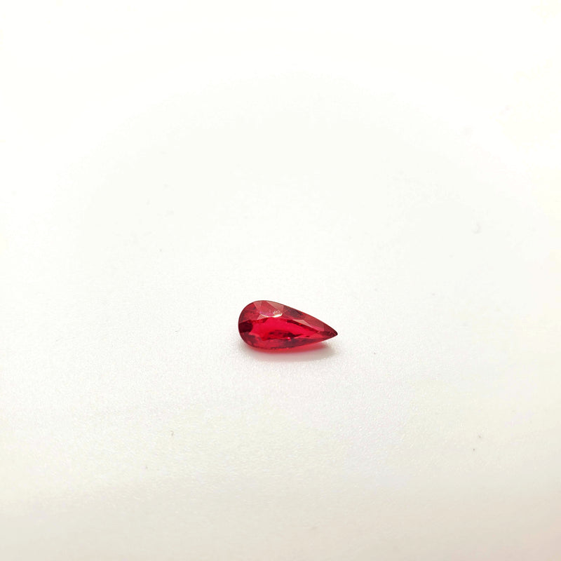 Mozambique Ruby Natural Unheated Pear Shape 4.45 x 9.11mm - Gemorex International Inc