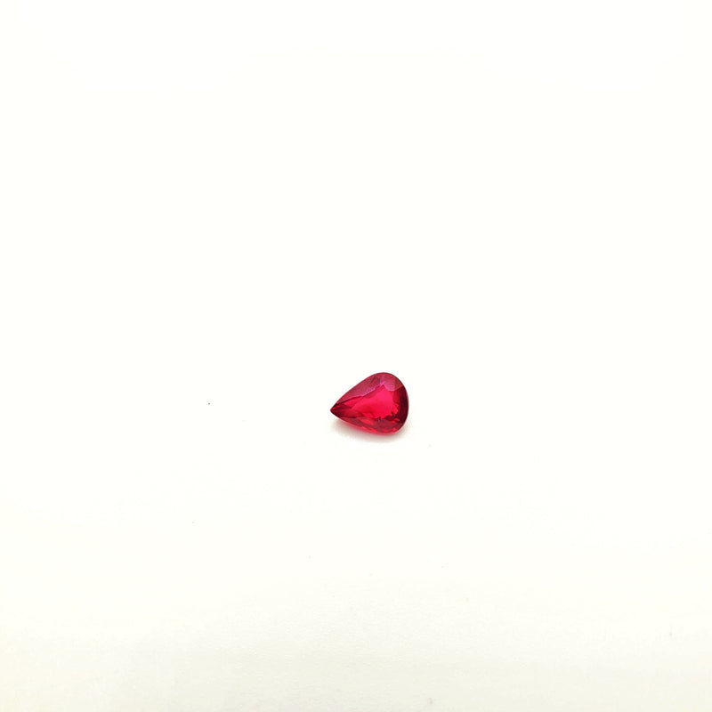 Mozambique Ruby Natural Unheated Pear Shape 5.40 x 7.05mm - Gemorex International Inc
