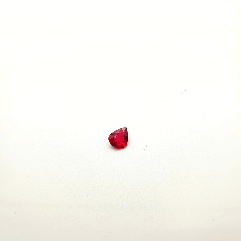 Mozambique Ruby Natural Unheated Pear Shape 5.89 x 7.00mm - Gemorex International Inc
