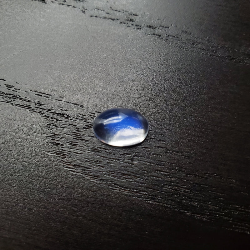 Blue Moonstone Oval Cab 7.5 x 11mm