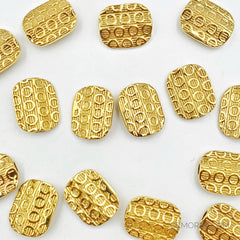 18K Yellow Gold Bead GLD04