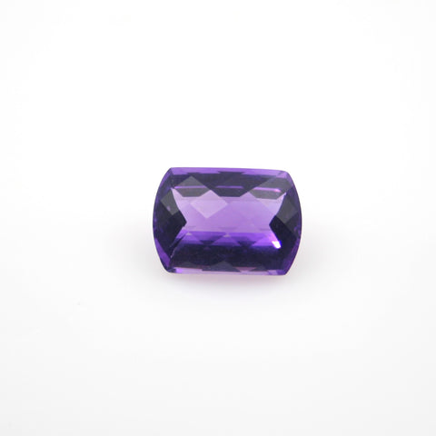 AMETHYST CHECKERBOARD TOP FANCY RECTANGLE 13x18mm - Gemorex International Inc