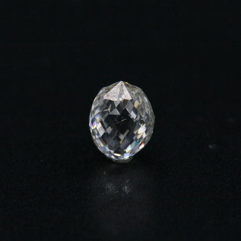 White Diamond Briolette Cut 6x5 - Gemorex International Inc