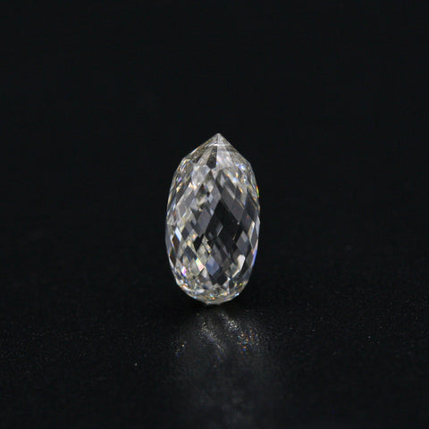 White Diamond Briolette Cut 8x5 - Gemorex International Inc