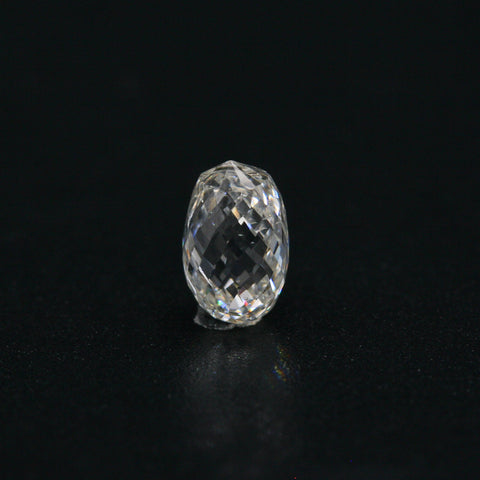 White Diamond Briolette Cut 7x5 - Gemorex International Inc