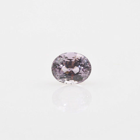 Fancy Color Pastel Lilac Sapphire Oval 2.61ct - Gemorex International Inc