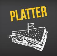 (E) Platter - Salami and Cheese