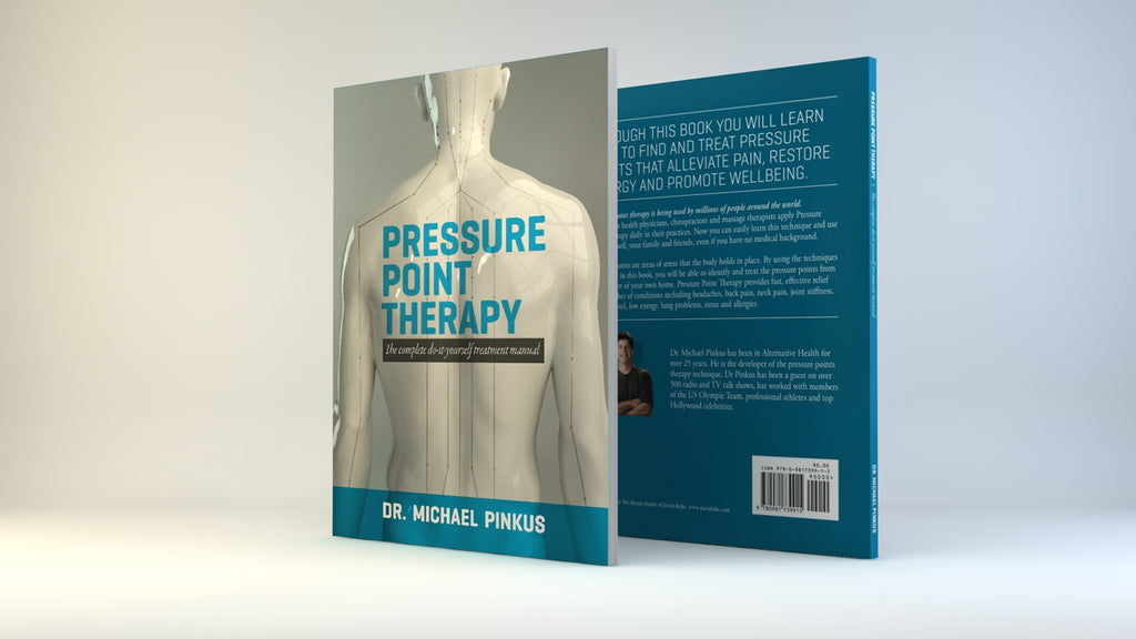 Pressure Point Therapy Book--FREE SHIPPING!