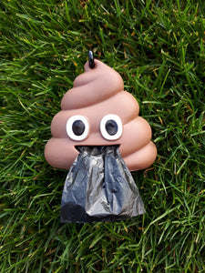 Poop Emoji - Poop Bag Dispenser