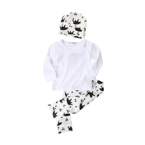 Baby Panda Clothing Set