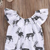 Baby Girl Deer Bodysuit