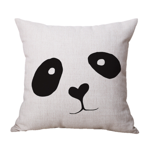 Panda Pillow Cover