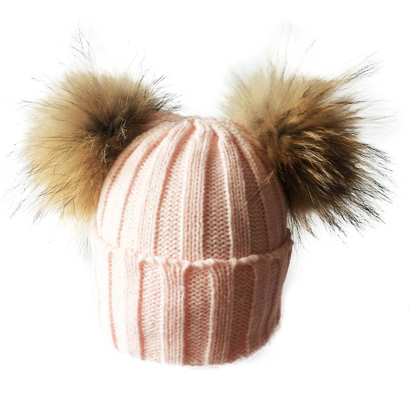 Large Baby Pom Pom Hat – Little White Star 359b8088876