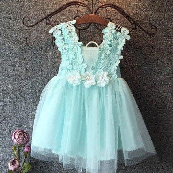 Girls Lacy Dress
