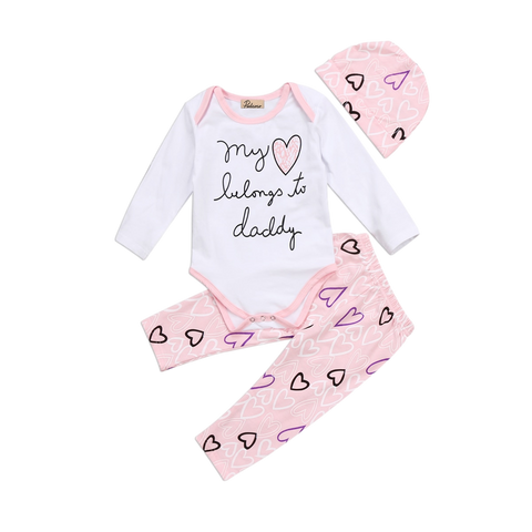 My Heart Belongs To Daddy Clothing Set