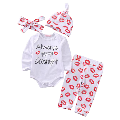 Always Kiss Me Goodnight Clothing Set