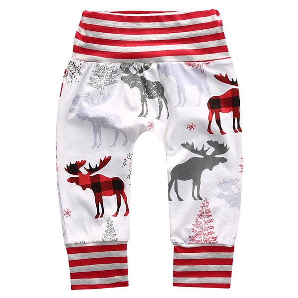 Christmas Deer Pants