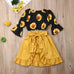 Sienna Sunflower Top + Skort 3pcs Set
