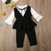 Raiza Vest + Pants 3pcs Set