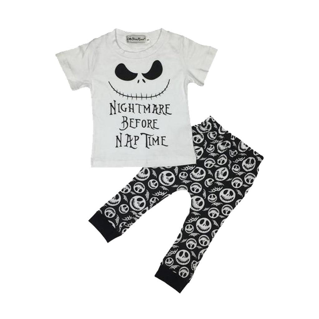 Nightmare Before Nap Time Clothing Set