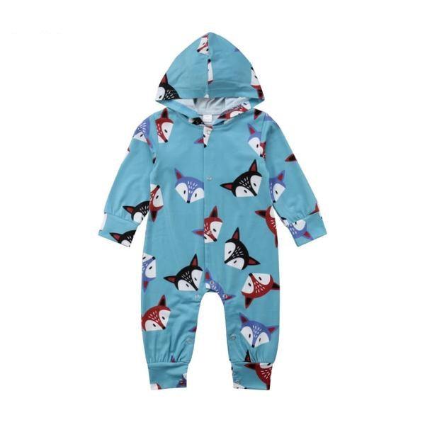 Hooded Fox Jumpsuit