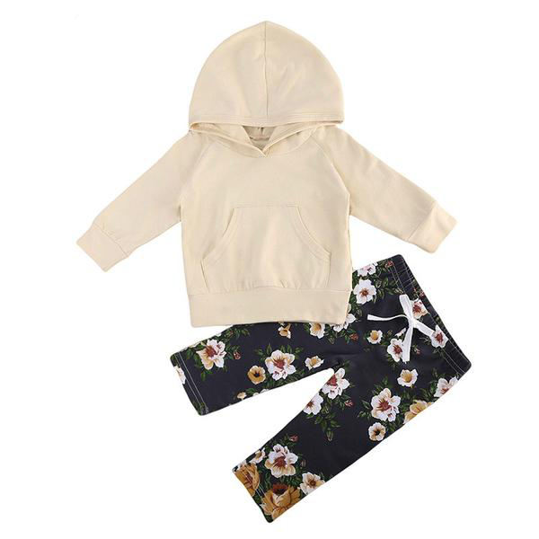 Leah Hooded Top + Floral Pants