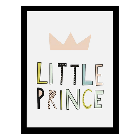 Little Prince Wall Print
