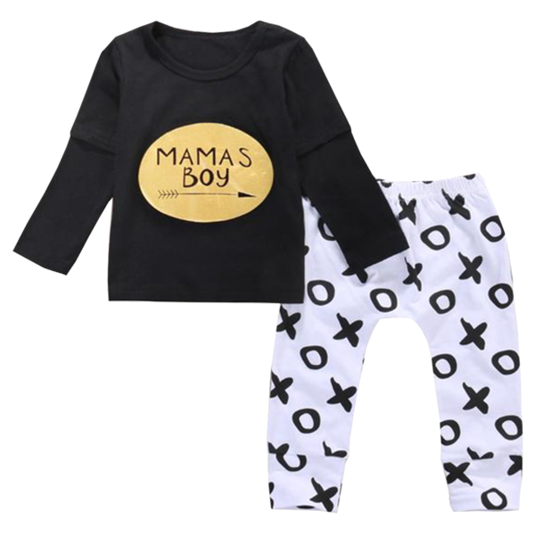 Mama's Boy XO Clothing Set