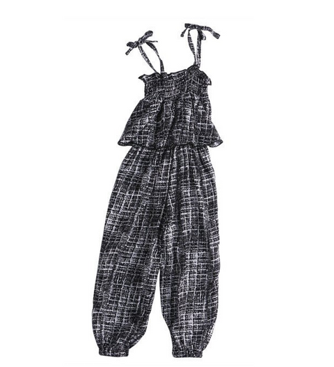 Alicia's Striped Jumpsuit