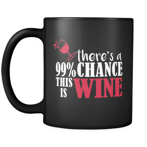 There's A Chance This Is Wine Mug
