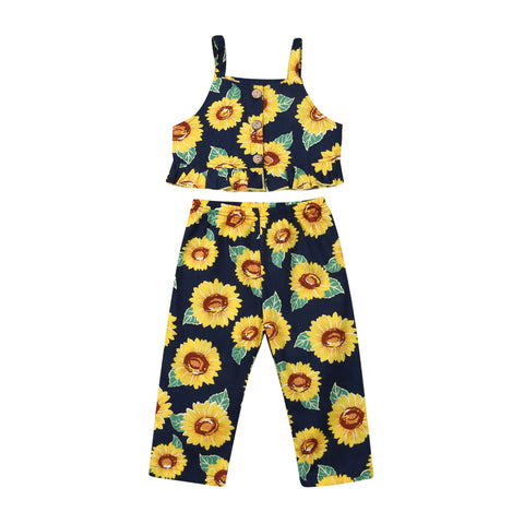 Erin Sunflower Tank Top + Pants
