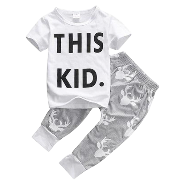This Kid Clothing Set