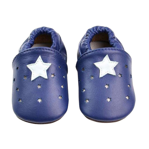 Blue Star Moccasin