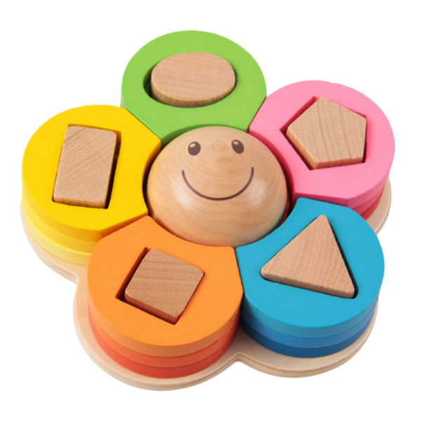 Flower Shape Sorting Toy