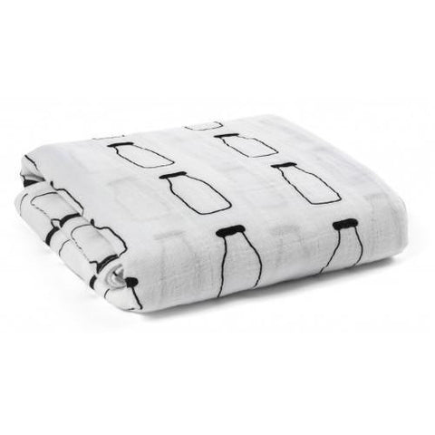 Milk Swaddle Blanket