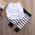 Big Sister Striped Clothing Set