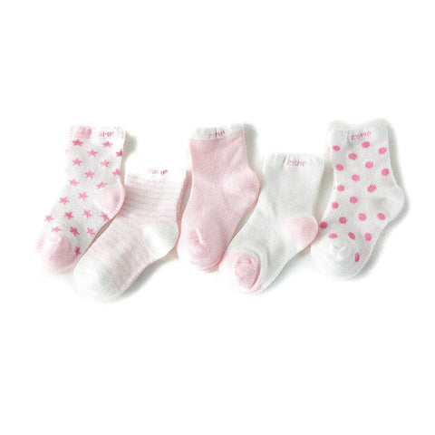 5Pair First Walker Cotton Socks