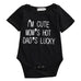 I'm Cute, Mom's Hot, Dad's Lucky Bodysuit