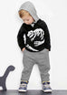 Dinosaur Hooded Sweatshirt & Pants